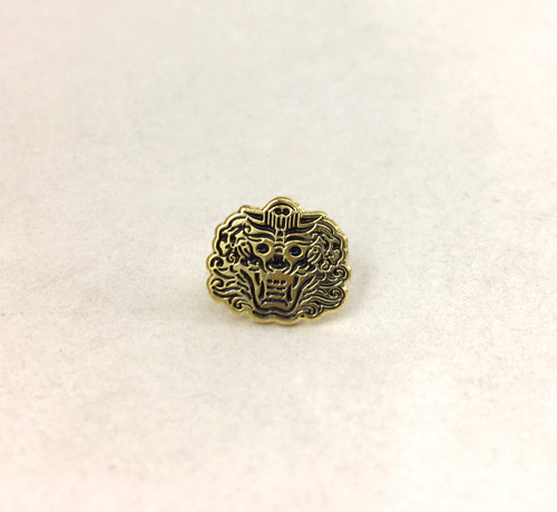 The actual width of this pin is 12 mm or 0.25 inch.
