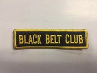 Black Belt Club - Straight (Black background w/ Gold Letters)