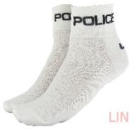 CoolMax Police Sock White