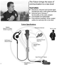 The Falcon is a lightweight directional lapel microphone.