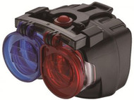 4Bike-Police Nitestalker headlight from Cycle Force group, a great light in a small package.