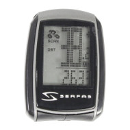 Serfas' Level 4 Computer has everything a bike rider needs and comes equipped with 22 usable functions that are easily programmable.