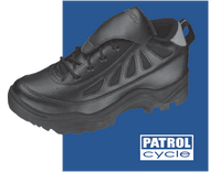 Patrol Cycle Shoe Designed for high performance in all areas of policing, public safety and patrol work on bicycles