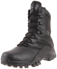 Bates 2348-B Mens Delta Side Zip 8 Inch Black Uniform Boot