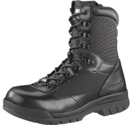 Bates 2320-B Mens EH 8-Inch Steel Toe Side-Zip Black Insulated Boots