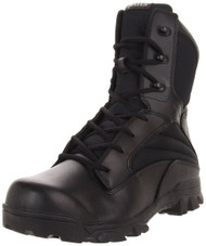 Bates 2068-B Mens 8 Inch Leather Nylon ZR8 Side Zip Uniform Boot
