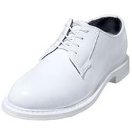 Bates 7131-B Womens Lites White Leather Naval Oxford Shoes