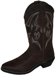 Bates 44121-B Mens Bozeman Western Style Motorcycle Boot