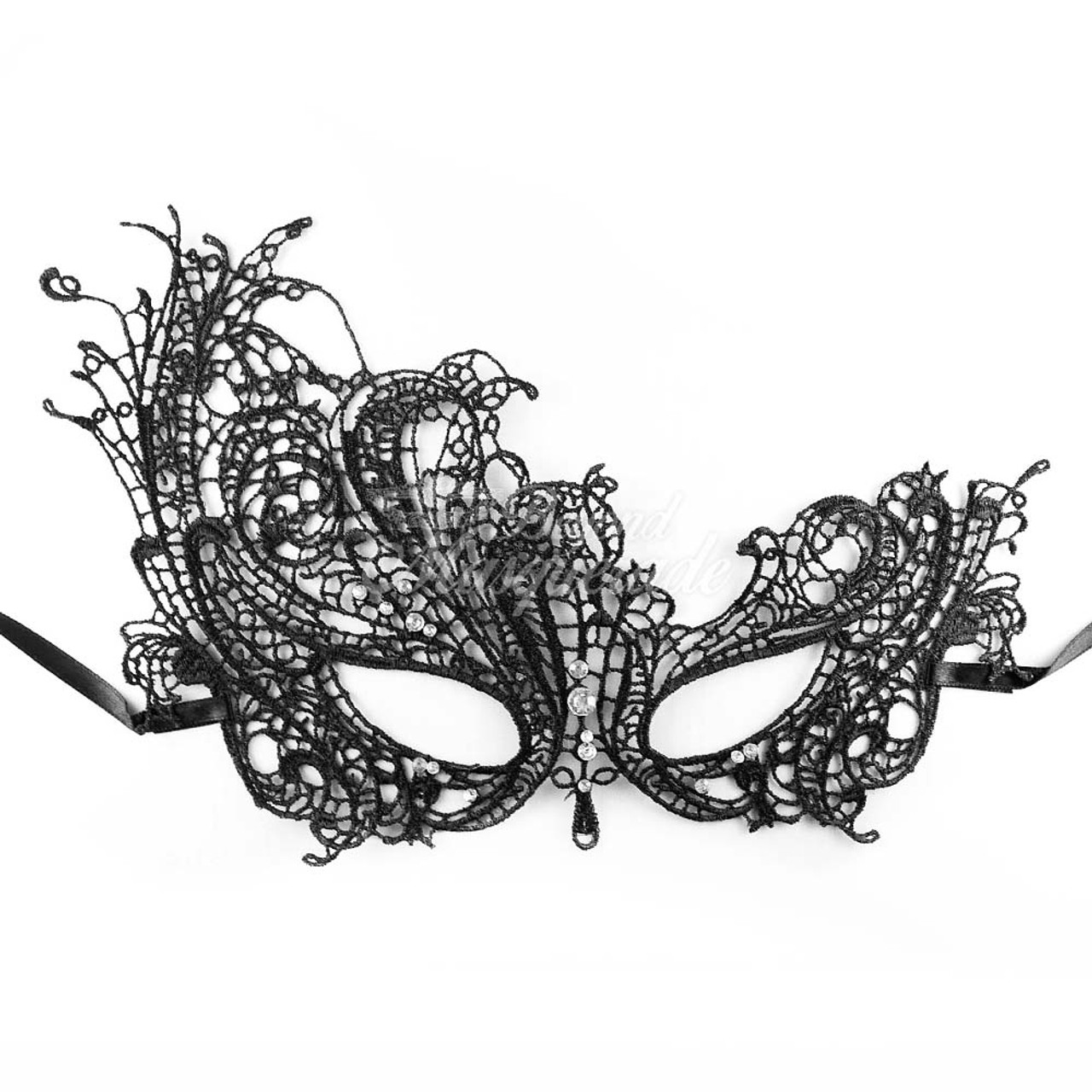 masquerade mask women black lace masquerade mask lm006bk