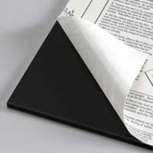 "3/16"" Black 1 Side Self Adhesive Foam Core Boards :12 x 36"