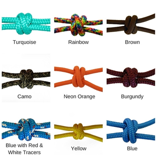 """Double Braid Polyester Colors - Yacht Rope 1/4"""""""