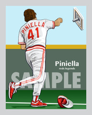 Digital Illustration of Sweet Lou Piniella in one of his most famous actions on the field!!