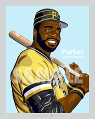 Digital illustration of one of Pittsburgh's All-Time Greats, Dave Parker!
