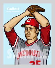 Digital Illustration of Don Gullett - one of the All-Time Greats from the Big Red Machine!