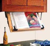 Under Cabinet Cookbook Holder