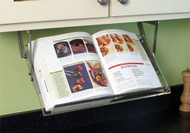 Cabinet Mounted Cookbook Holder