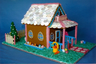 Bunny Hutch Edible House