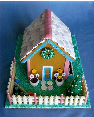 Bunny Hutche Edible House