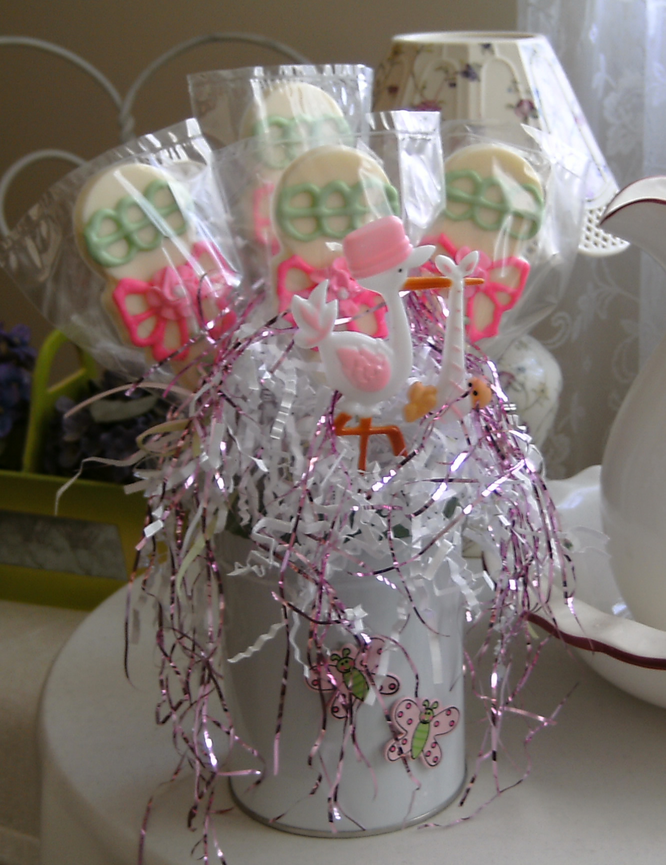 Baby Shower Candy Lollipops