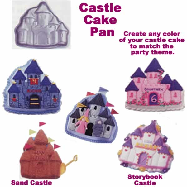 Design Your Own Cake Pan : IDEAS: Castle Cake Pan (to make Castles) - ThePartyWorks
