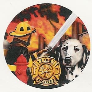 Fireman<br>8 Dinner Plates