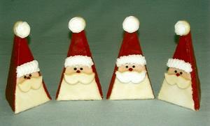 Tri Santa Cookies