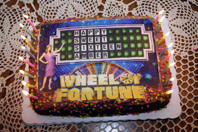 Wheel of Fortune Cake