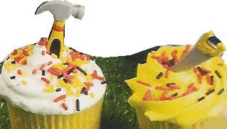 Tool Cupcakes