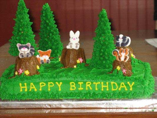 Animals Woodland Fuzzy Wuzzies ThePartyWorks