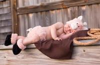 Cuddly Piglet Infant Diaper Cover Set