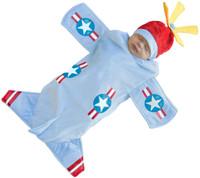 Bennett Bomber Infant Bunting Costume