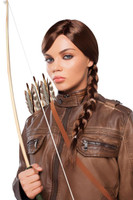 Braided Brown Adult Wig