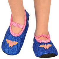 Wonder Woman - Glitter Slipper Shoes Child One Size (7-11)