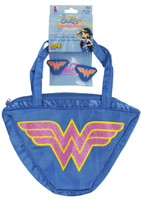 Wonder Woman Purse & Hair Clips Set