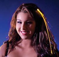 Gold Light Up Hairclip
