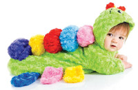 Colorful Caterpillar Bunting Infant Costume