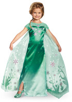 Elsa Frozen Fever Deluxe Toddler Costume