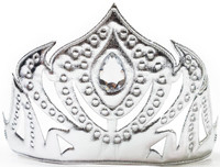 Silver Soft Ice Princess Crown