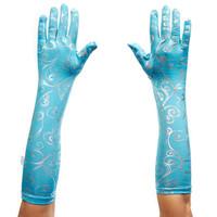 Blue Ice Princess Gloves