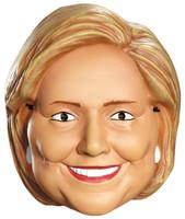 Hillary Clinton Vacuform Election Half Mask