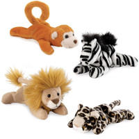 Safari Animal Bean Bag Set
