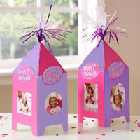 Pastel Photo Table Tents