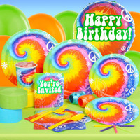 Tie Dye Fun Standard Party Pack