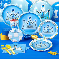 Lil' Prince 1st Birthday Standard Party Pack