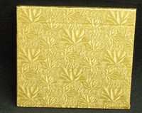 "Square Gold Cake Board 10"" x 10"" x 1/2"" Thick"