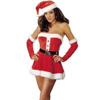 Santa's Sweetie Red  Adult Costume