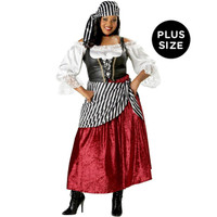 Pirate's Wench Elite Collection Adult Plus Costume