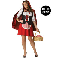 Red Riding Hood Elite Collection Adult Plus Costume