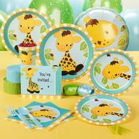 Giraffe 1st Birthday Standard Party Pack