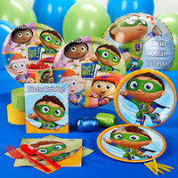 Super Why! Standard Party Pack